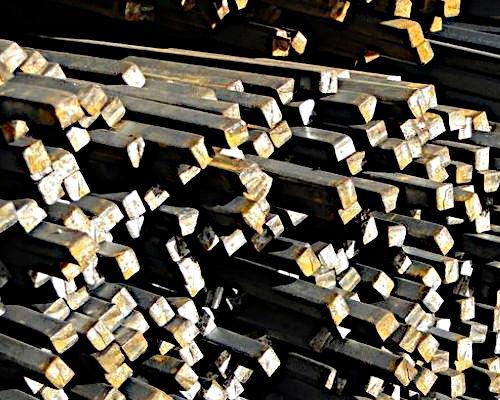 Квадрат сталевий на складі в Харкові