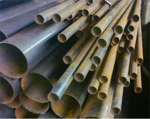 Труба металлическая круглая на складе